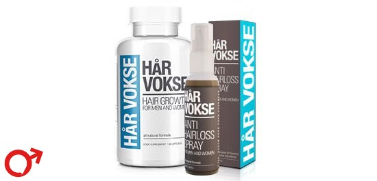 har vokse dual package supplement and spray