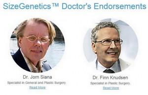 sizegenetics doctor endorsement