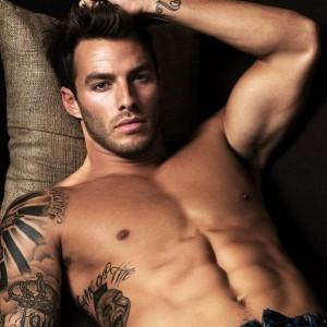 sexy man tattoo