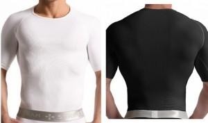 t shirt shapewear compression clothes