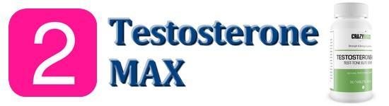 2 testosterone max