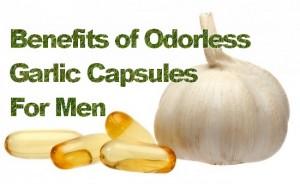 Odorless Garlic Capsules