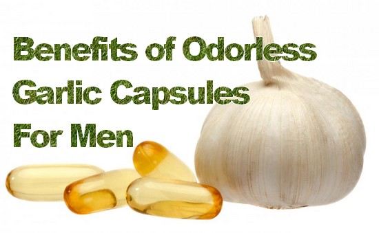 Odorless Garlic Capsules