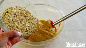 adding oat meal
