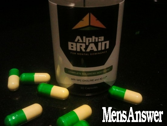 alpha brain pills