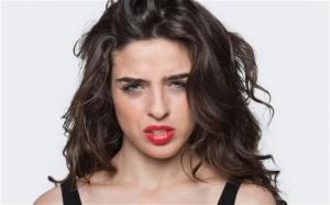 woman not happy