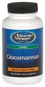 vitamin shoppe glucomannan