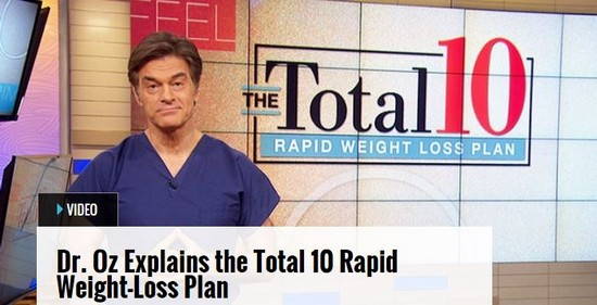 dr oz video