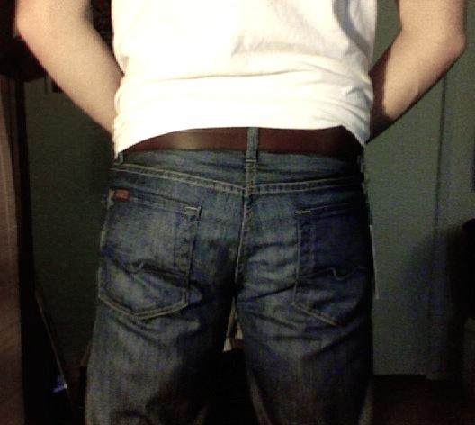 nice guy's butt