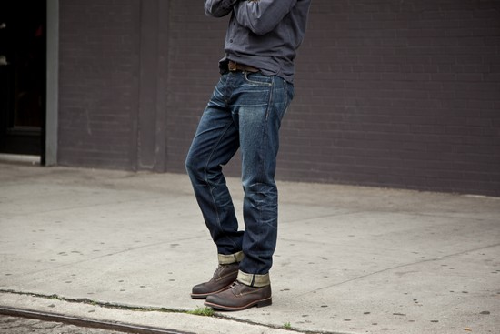 cuffs Selvedge Jeans