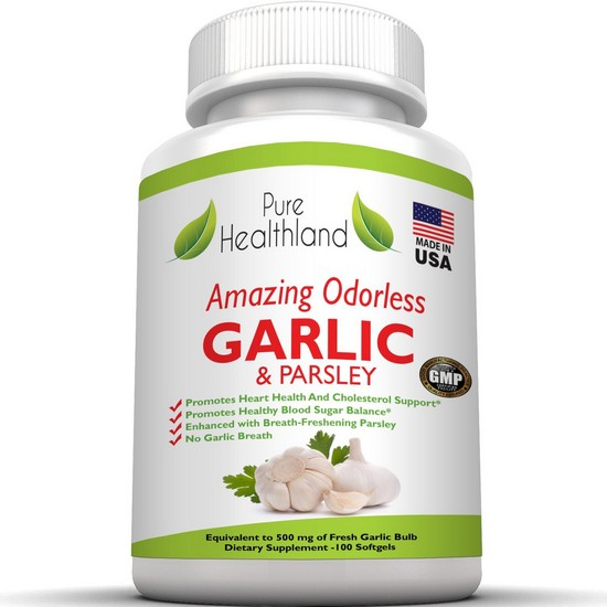 odorless garlic capsules amazon