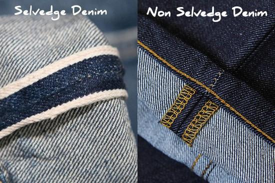 selvedge vs non selvedge