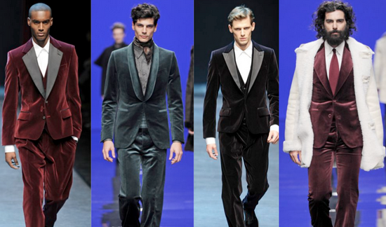 velvet suits fabric