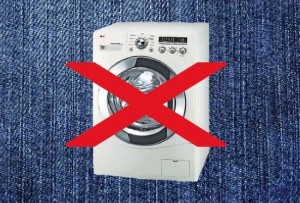 washing machines selvedge jeans