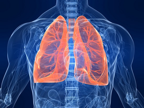 respiratroy disease man