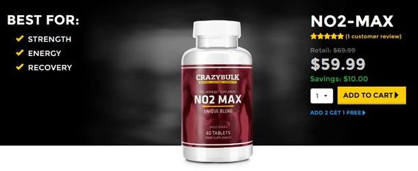 NO2 Max by CrazyBulk