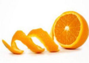 orange peel for your teeth