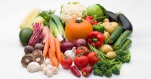 eating vegetables for white teeth