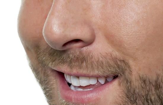 man nose hair