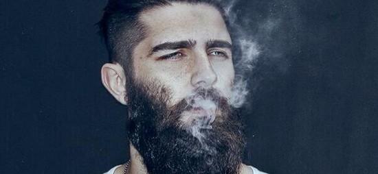 messy beard