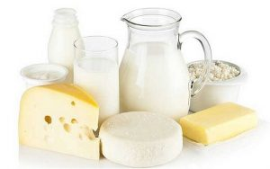 Dairy and bodybuilding