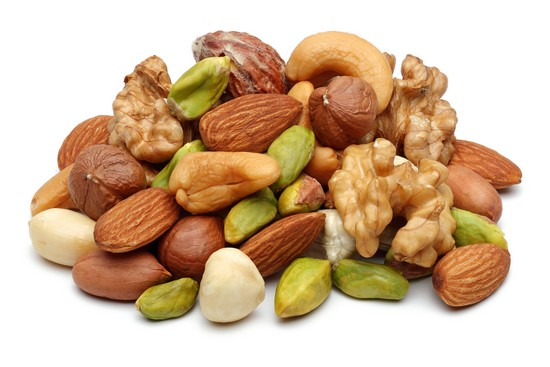 nuts to grow muscles