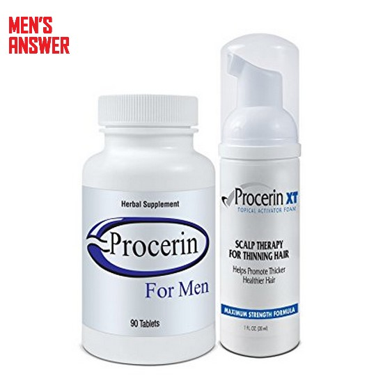 procerin combo package to stop hair loss