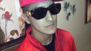 Versace man wearing sunglasses