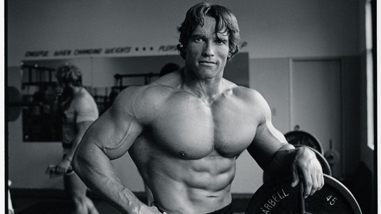 Arnold Schwarzenegger using steroids