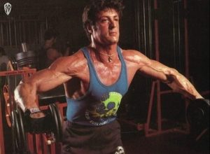 Sly Stallone and steroids