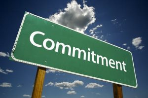 make a commitment