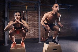 crossfit, bodybuilding and muscle mass